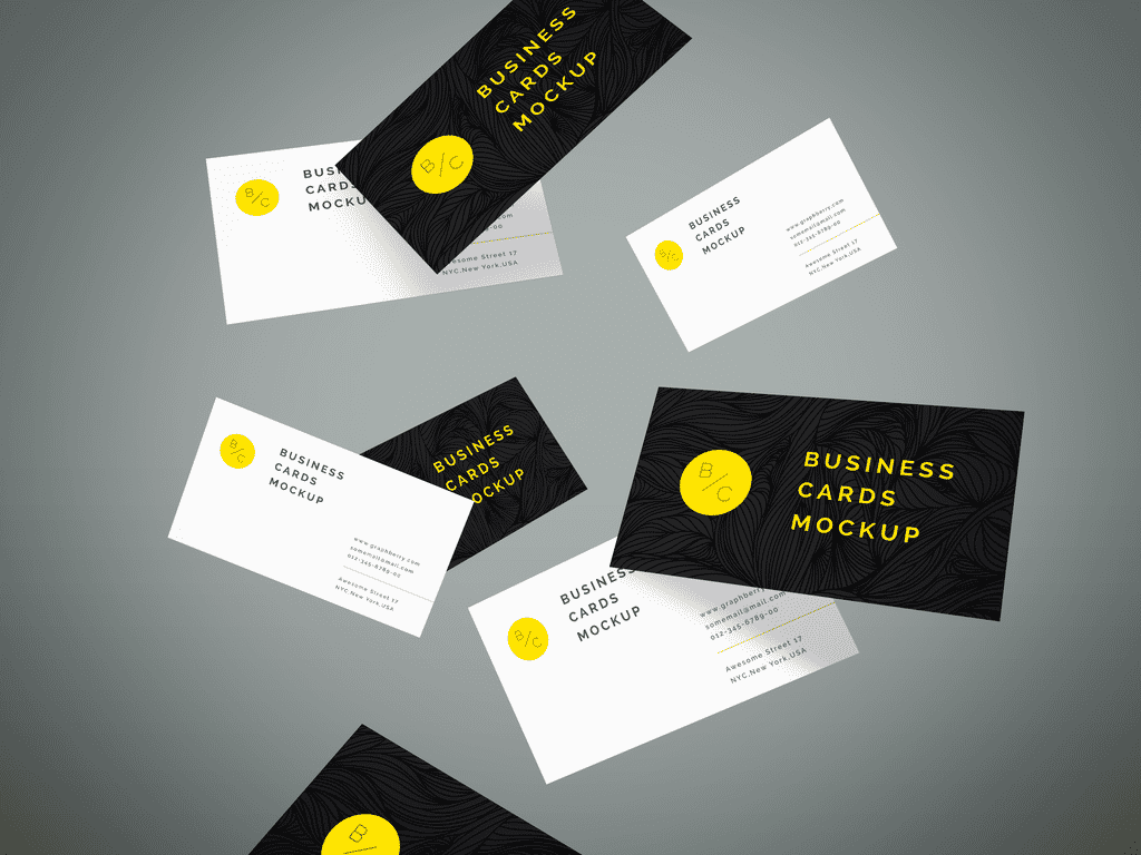 proposable mockup cards